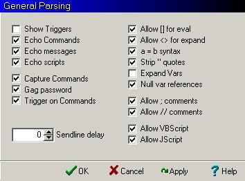 General Parsing